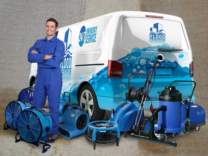 carpet water damage van machine img