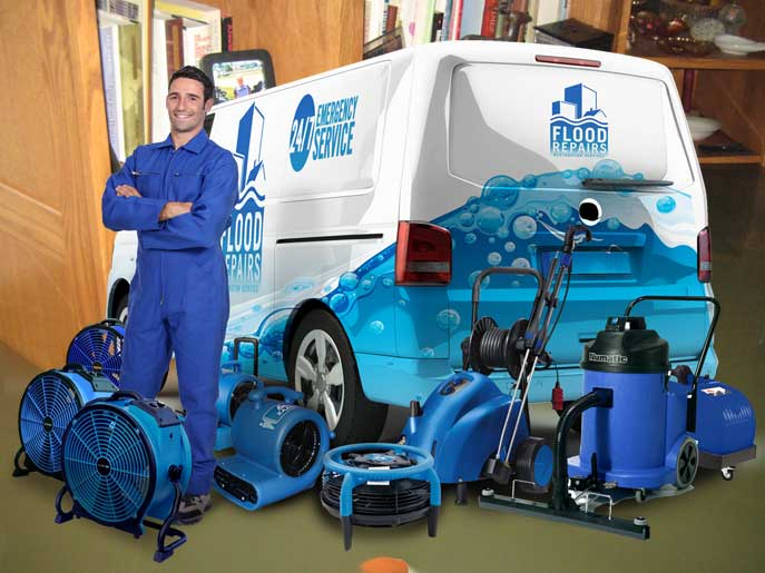 sewage water cleanup van machine img