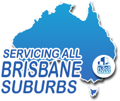 Flood Restoration & Repairs brisbane areas map