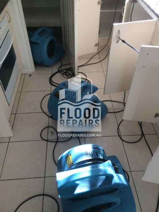 floor clean flood job equipment